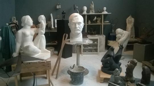 Musée Ásmundarsafn, dédié à Ásmundur Sveinsson, sculpteur Islandais