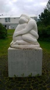 Une des oeuvres de Ásmundur Sveinsson