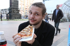 La fameuse pizza mayonnaise !