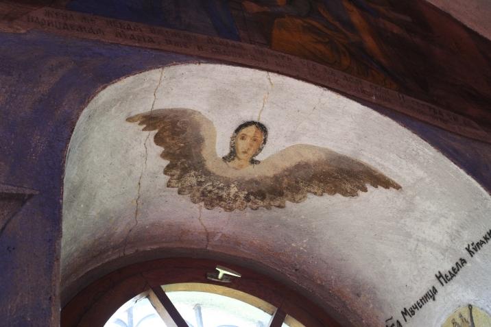 Détail à l'intérieur de l'église