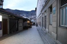 Les rues sont encore désertes