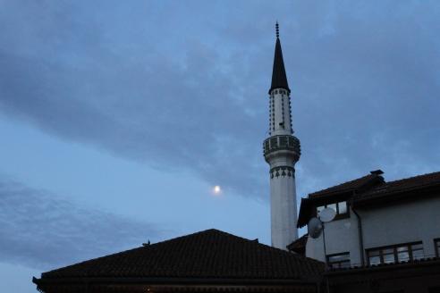 L'un des nombreux minarets de la ville
