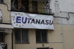 Apparemment tout le monde n'est pas fan de l'Union Européenne