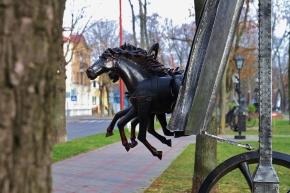 Des chevaux qui sortent d'un livre ?
