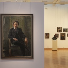 Suite de l'exposition sur les portraits biélorusses